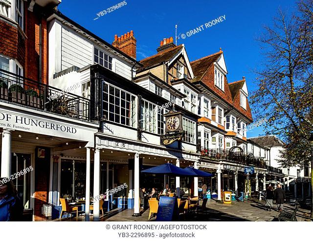 The Pantiles, Royal Tunbridge Wells, Kent, England