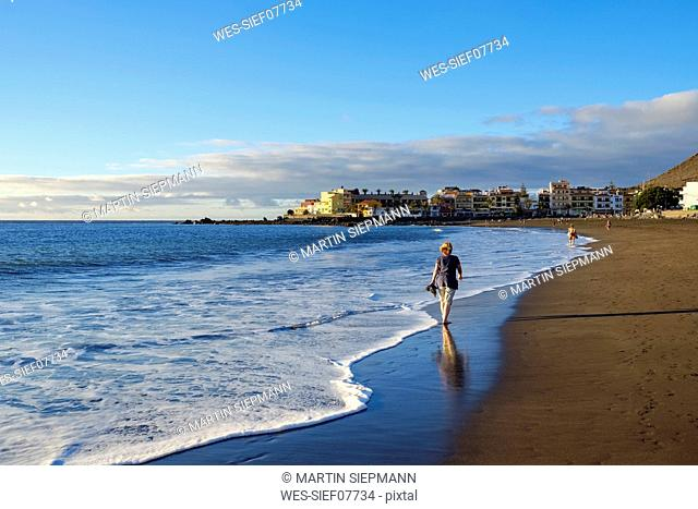 Spain, Canary Islands, La Gomera, La Playa, beach