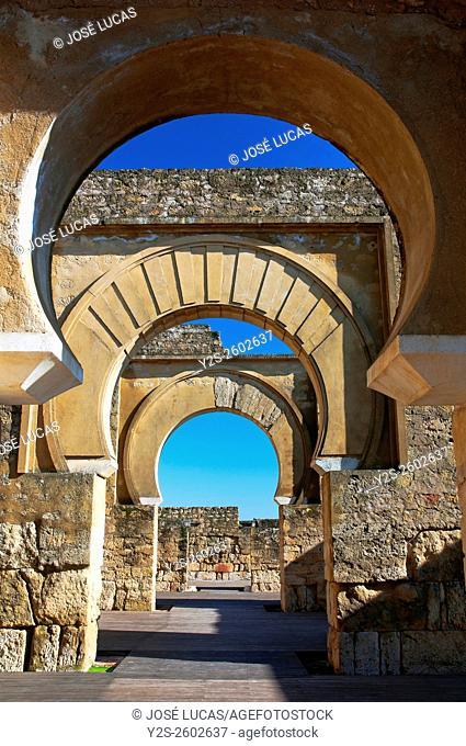 Basilica, Al Madinah Azahara, Cordoba, Region of Andalusia, Spain, Europe,