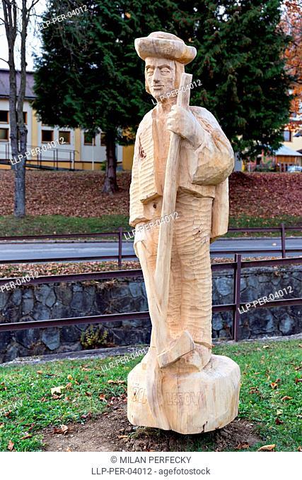 Istebne, folk artist, Slovakia