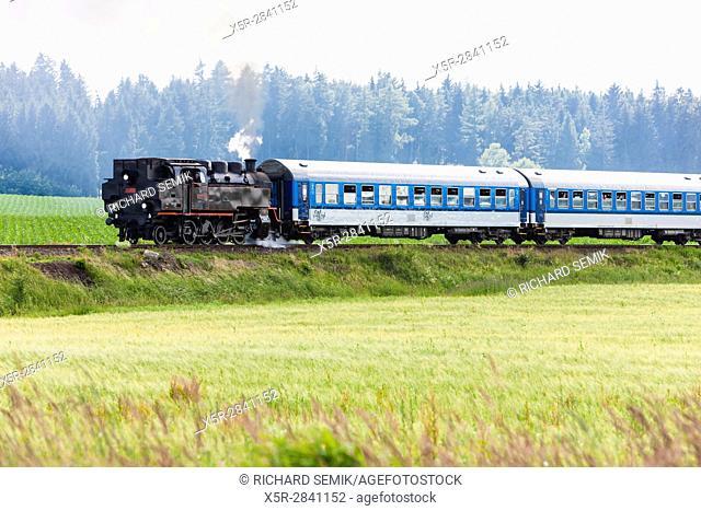 steam train, Czech Republic