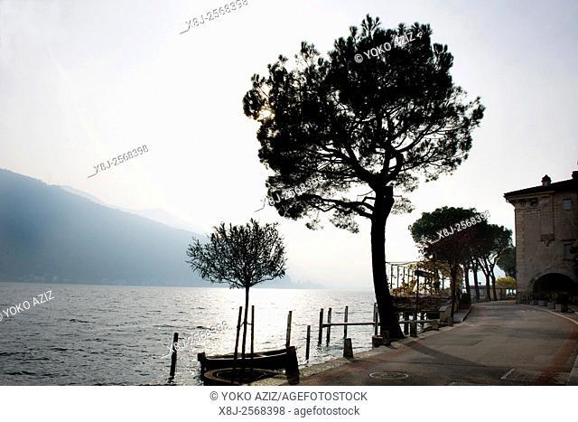 Switzerland, Canton Ticino, Morcote