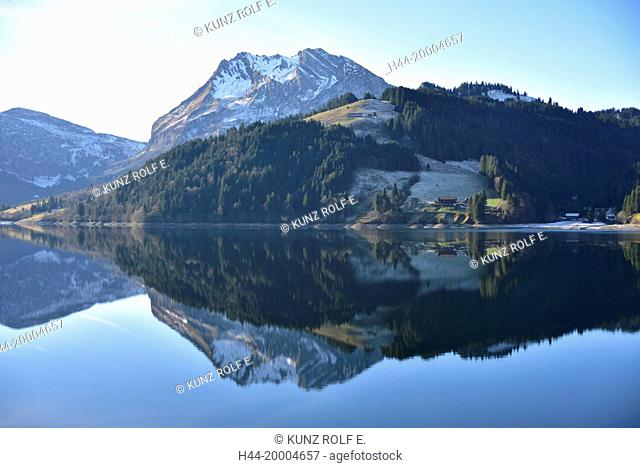 Wägitalersee, lake, Canton of Schwyz