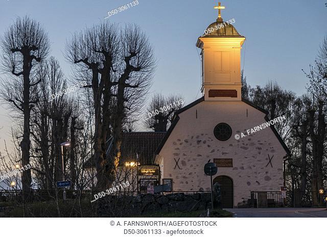 STOCKHOLM, SWEDEN The church on the island of Lidingo, an affluent neighborhood