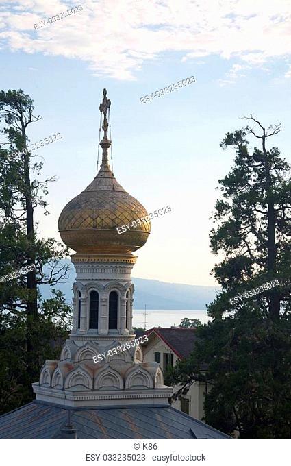 The Russian Orthodox Church at Vevey, Switzerland