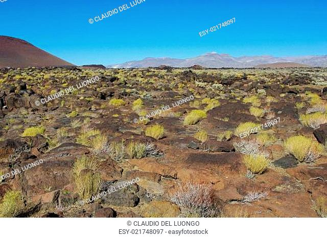 Volcanic area north of Coso Junction, California