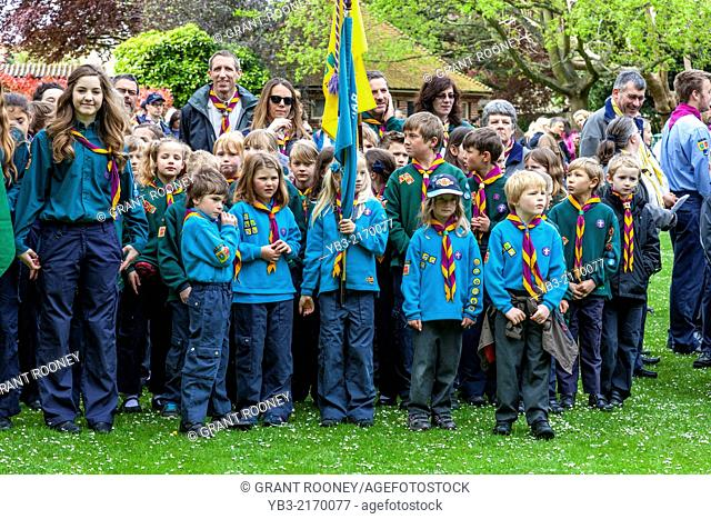 Sunday 27th April 2014. The Grange Gardens, Lewes, Sussex, UK