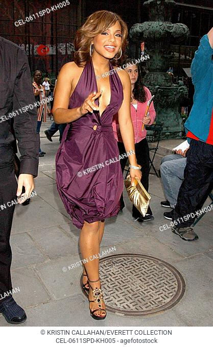 Christina Milian in attendance for Max Azria Spring/Summer 2007 Fashion Show, Bryant Park, New York, NY, September 11, 2006
