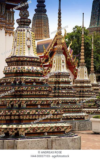 Wat Pho, in der Nähe des Königspalastes, Bangkok, Thailand
