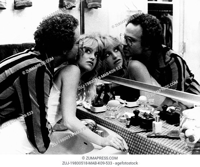 May 18, 1980 - Hollywood, CA, U.S. - Blonde, radiant, vivacious GOLDIE HAWN, marries ALBERT BROOKS, the man of her dreams. But