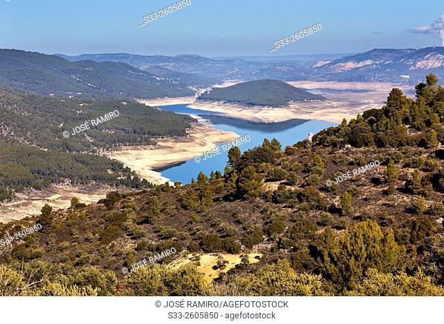 Entrepeñas reservoir. Guadalajara. Castilla la Mancha. Spain. Europe