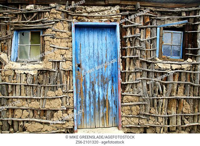 Mud and stick hut, rural Swaziland, Southern Africa