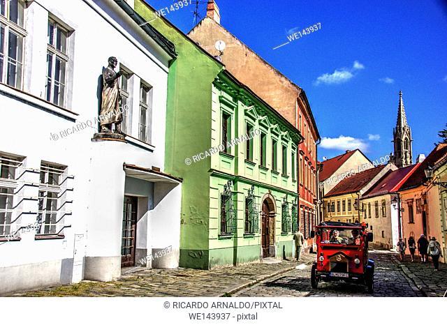 Bratislava street detail, Slovakia