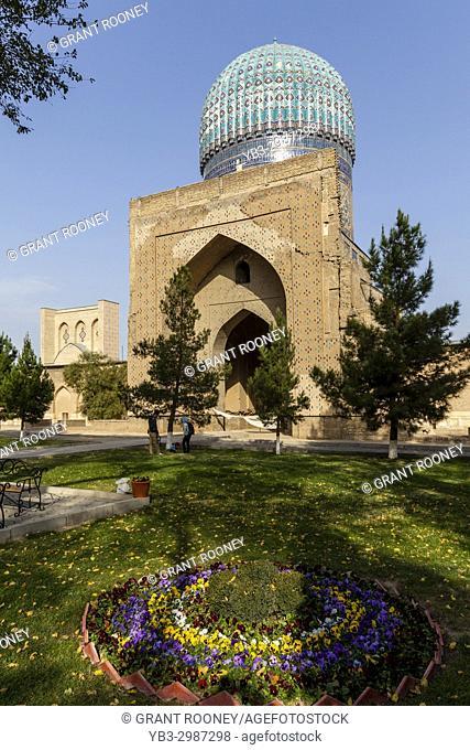 The Bibi Khanym Mosque, Samarkand, Uzbekistan