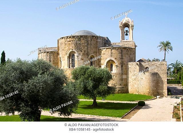 Saint John Church, Byblos Jbail, Lebanon