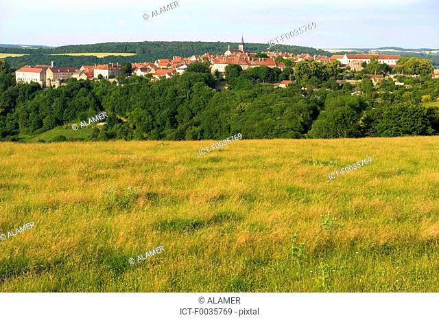 France, Burgundy, Flavigny-sur-Ozerain