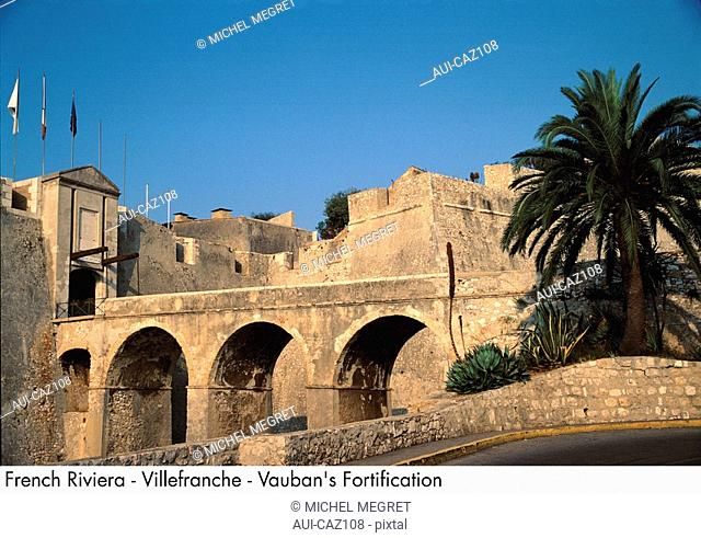 French Riviera - Villefranche - Vauban's Fortification