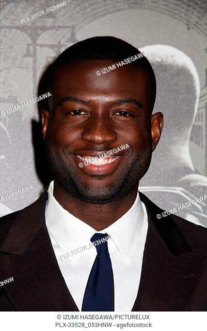 "Sinqua Walls 02/05/2018 The World Premiere of """"The 15:17 to Paris"""" held at The SJR Theater at Warner Bros. Studios in Burbank"