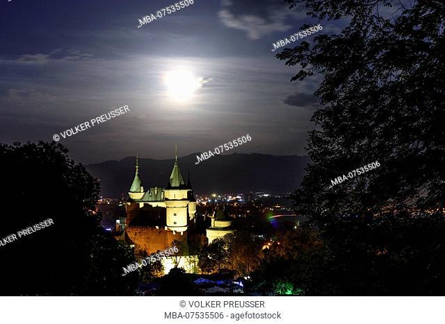 Bojnice (Weinitz), Bojnice Castle in Slovakia