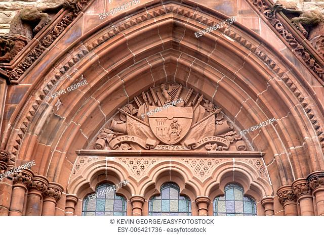 Guildhall, Derry - Londonderry, Northern Ireland, UK