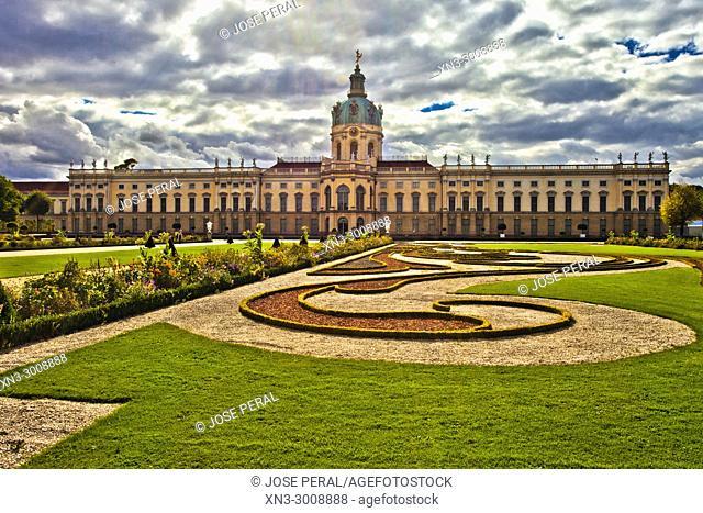 Gardens of Charlottenburg Palace, Charlottenburg district, Berlin, Germany, Europe
