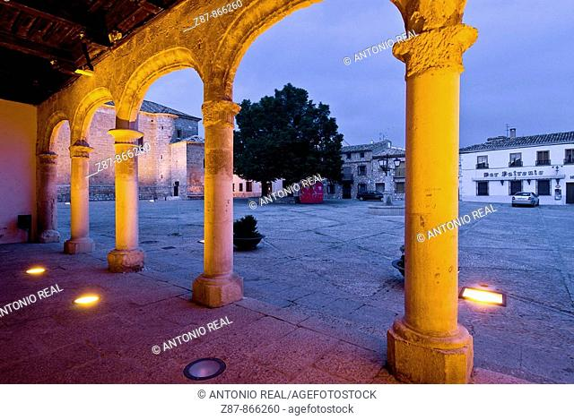 Town Hall, Alarcon. Cuenca province, Castilla-La Mancha, Spain