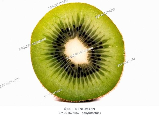 Kiwi halbiert