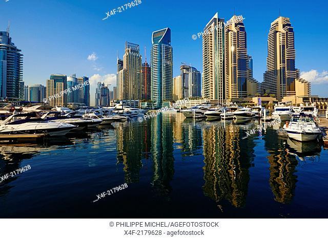 United Arab Emirates, Dubai, Marina Dubai
