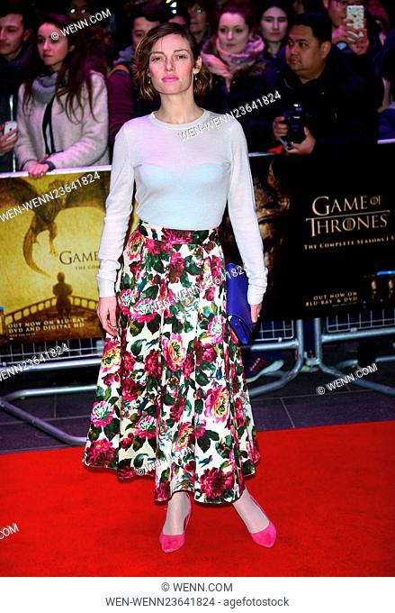 'Game of Thrones: Hardhome' - Special Screening at Empire Leicester Square Featuring: Camilla Rutherford Where: London, United Kingdom When: 14 Mar 2016 Credit:...