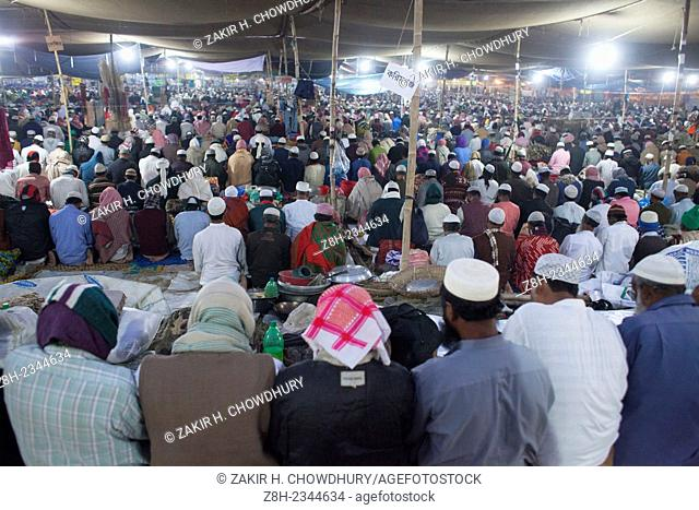 Thousands of Muslims attend the World largest 2nd Muslim congregation.Its the biggest congregation after Hajj.The first phase of the annual congregation will...