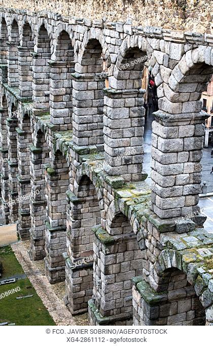 Acueducto romano de Segovia - Castilla-León - España - Europa