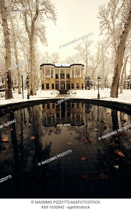The Kushak of Ahmad Shah, in the Niavaran Palace complex in Teheran, Iran