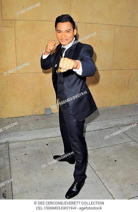 Tony Jaa at arrivals for SKIN TRADE Premiere, The Egyptian Theatre, Los Angeles, CA May 6, 2015. Photo By: Dee Cercone/Everett Collection