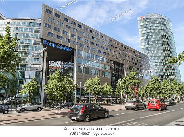 Sony Center at Potsdamer Platz, Berlin, Germany