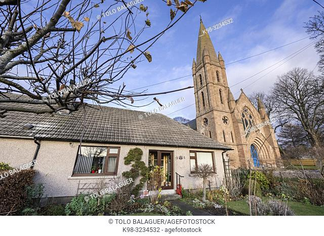 Fortrose Free Church, siglo XIX, Fortrose, Black isle, Highlands, Escocia, Reino Unido