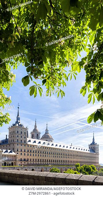 Monasterio de El Escorial. San Lorenzo de El Escorial. Madrid. España