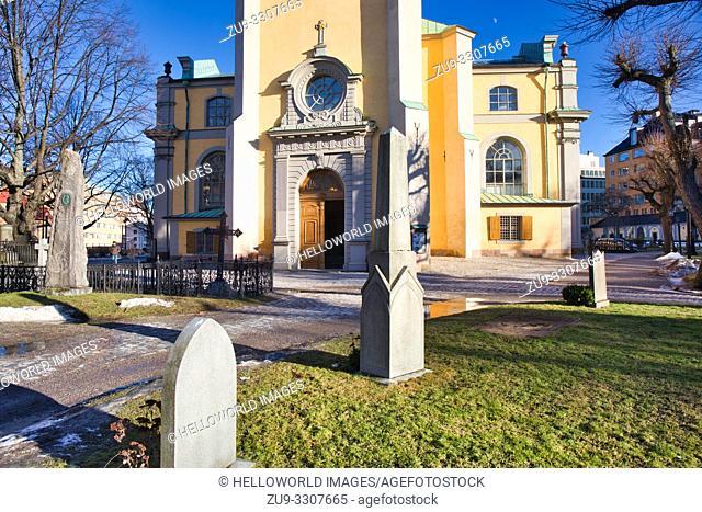 Maria Magdelena Church (Maria Magdalena Kyrka), Sodermalm, Stockholm, Sweden, Scandinavia. Church dates from various periods