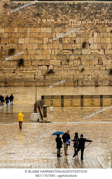 Western Wall Wailing Wall, Old City, Jerusalem, Israel
