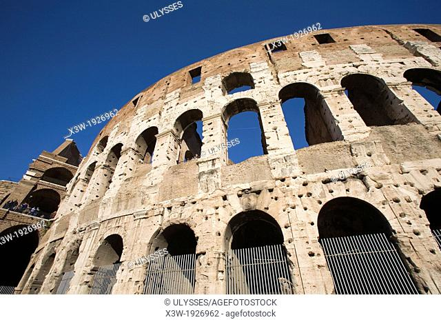 europe, italy, lazio, rome, colosseum