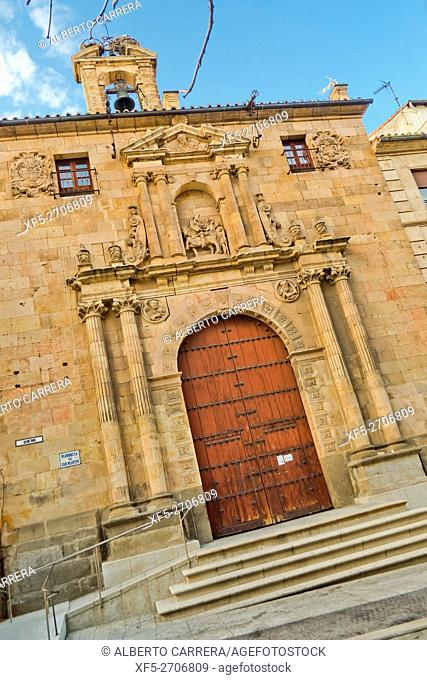 Church of San Martín de Tours, 12th century, Romanesque Style, Salamanca, UNESCO World Heritage Site, Castilla y León, Spain, Europe