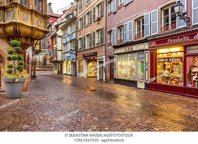 Colmar, Haut-Rhin, Alsace, France, Europe