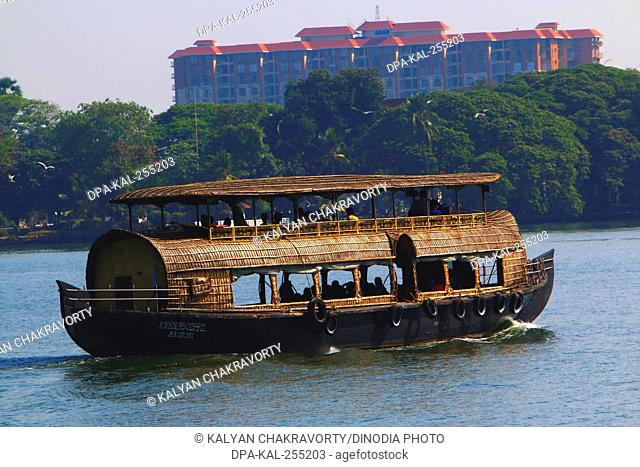houseboat, alleppey, kerala, India, Asia