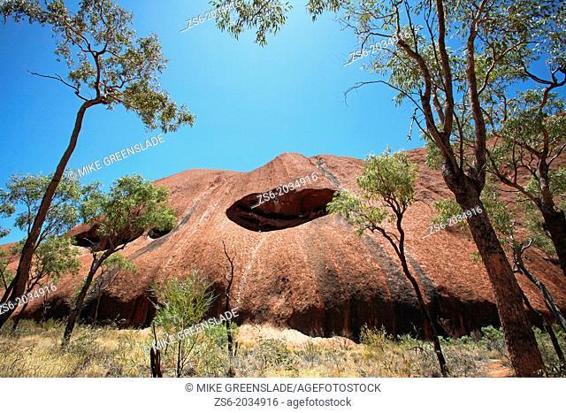 Uluru, base walk, Northern Territory, Australia