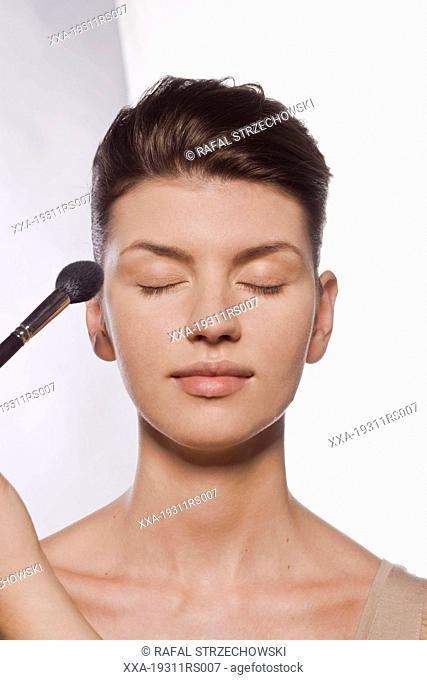 Powder application