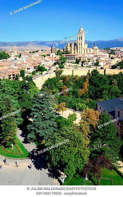 Santa Maria Cathedral of Segovia, Castilla Leon, Spain
