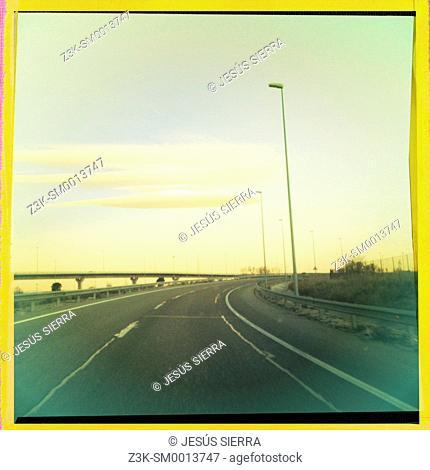 M 50 road, Comunidad de Madrid, Spain