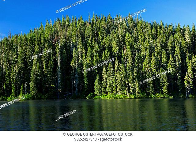 Lower Lake, Olallie Lake Scenic Area, Mt Hood National Forest, Oregon