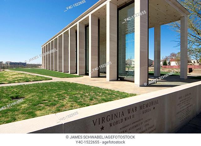 Virginia War Memorial, Richmond, Virginia, USA