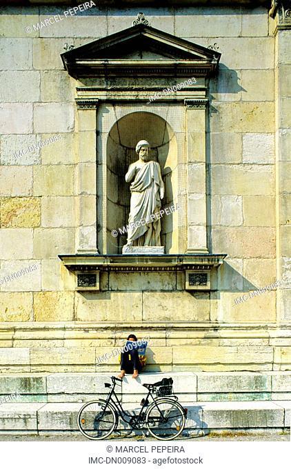 Germany, Bavaria, Munich, glyptotek, facade