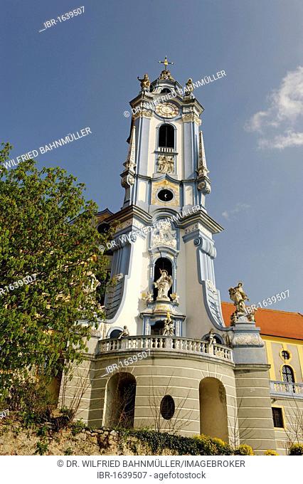 Church Mariae Himmelfahrt, Duernstein, Wachau, Lower Austria, Europe